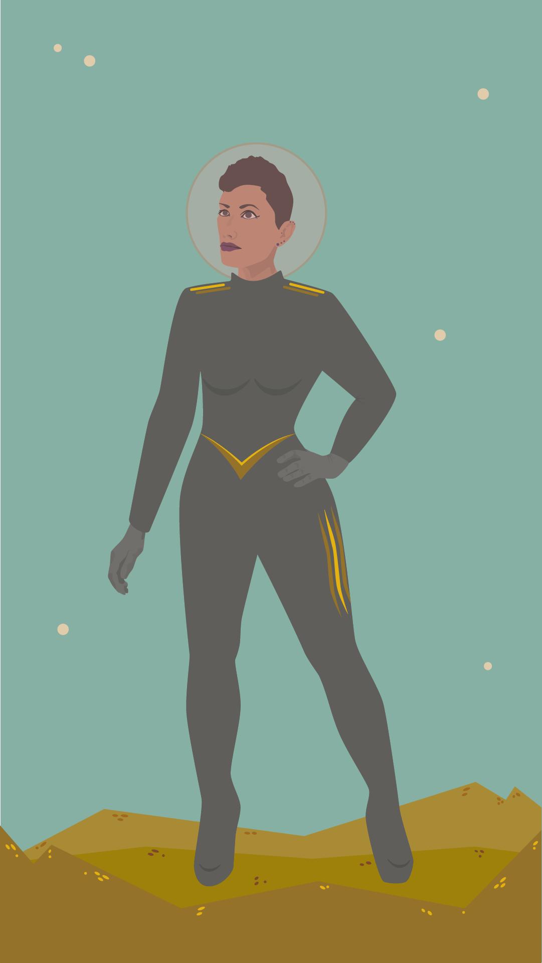 Astronaut on Tír